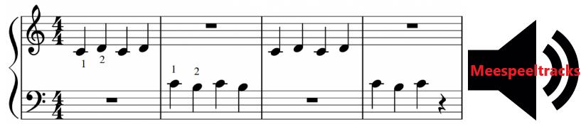 PIANO BLADMUZIEK PDF met LUISTERVOORBEELDEN